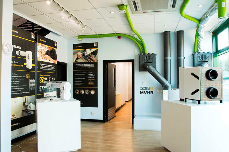 NEW HARROGATE SHOWROOM BRINGS VENTILATION TO LIFE